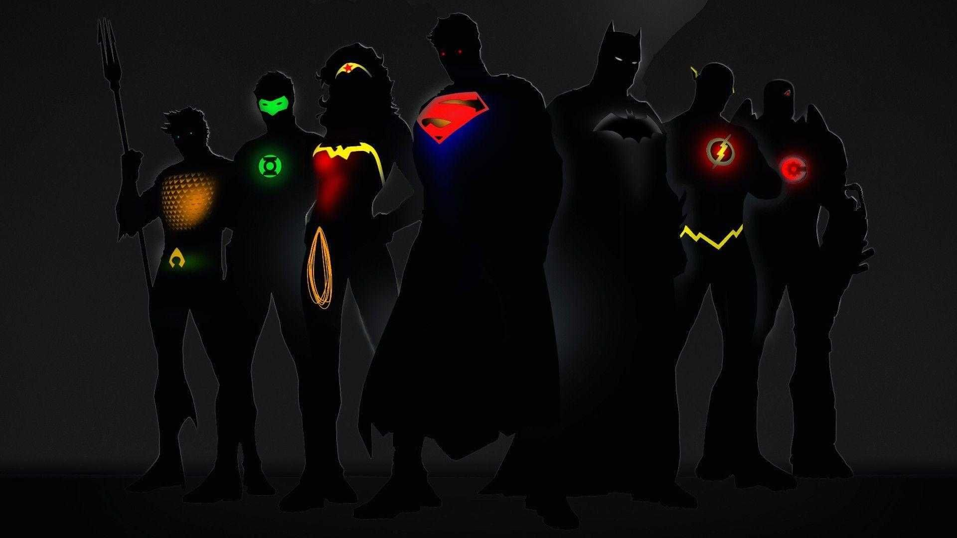 justice league desktop backgrounds