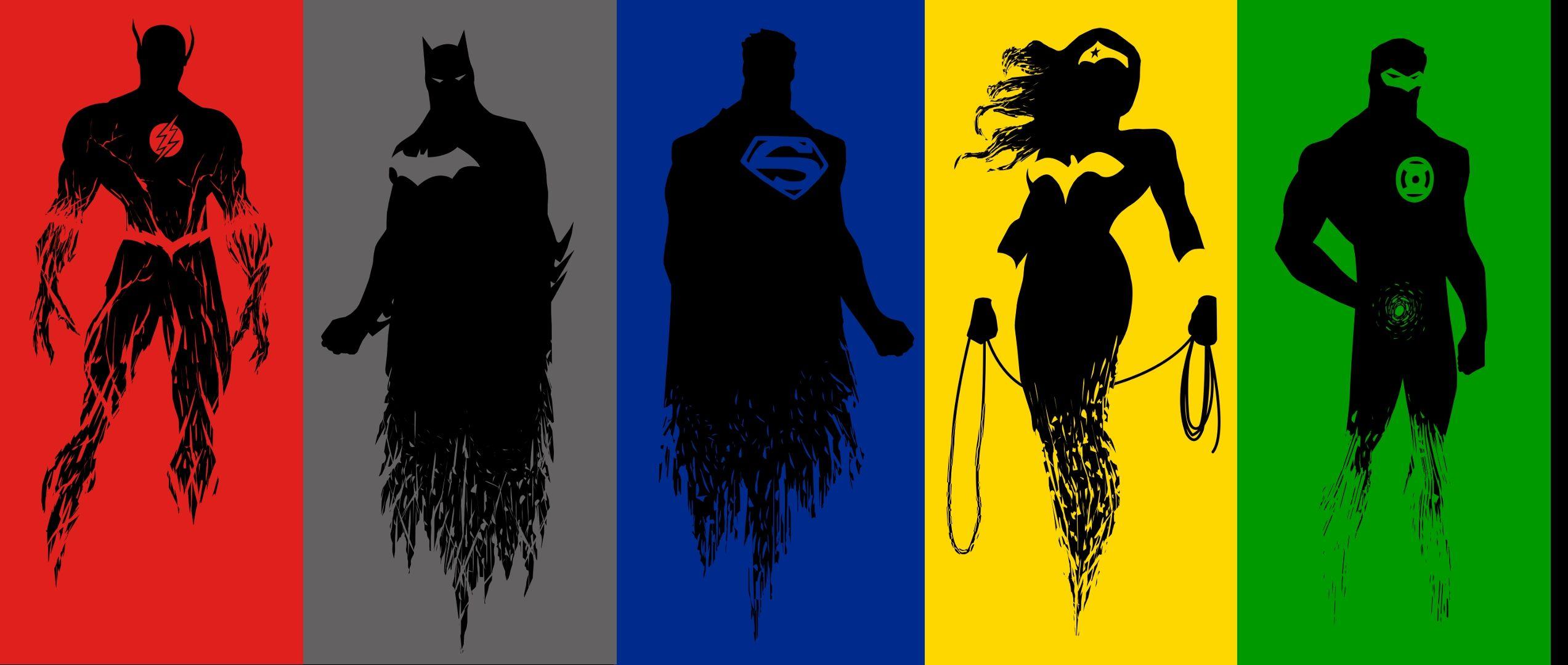 justice league computer wallpaper