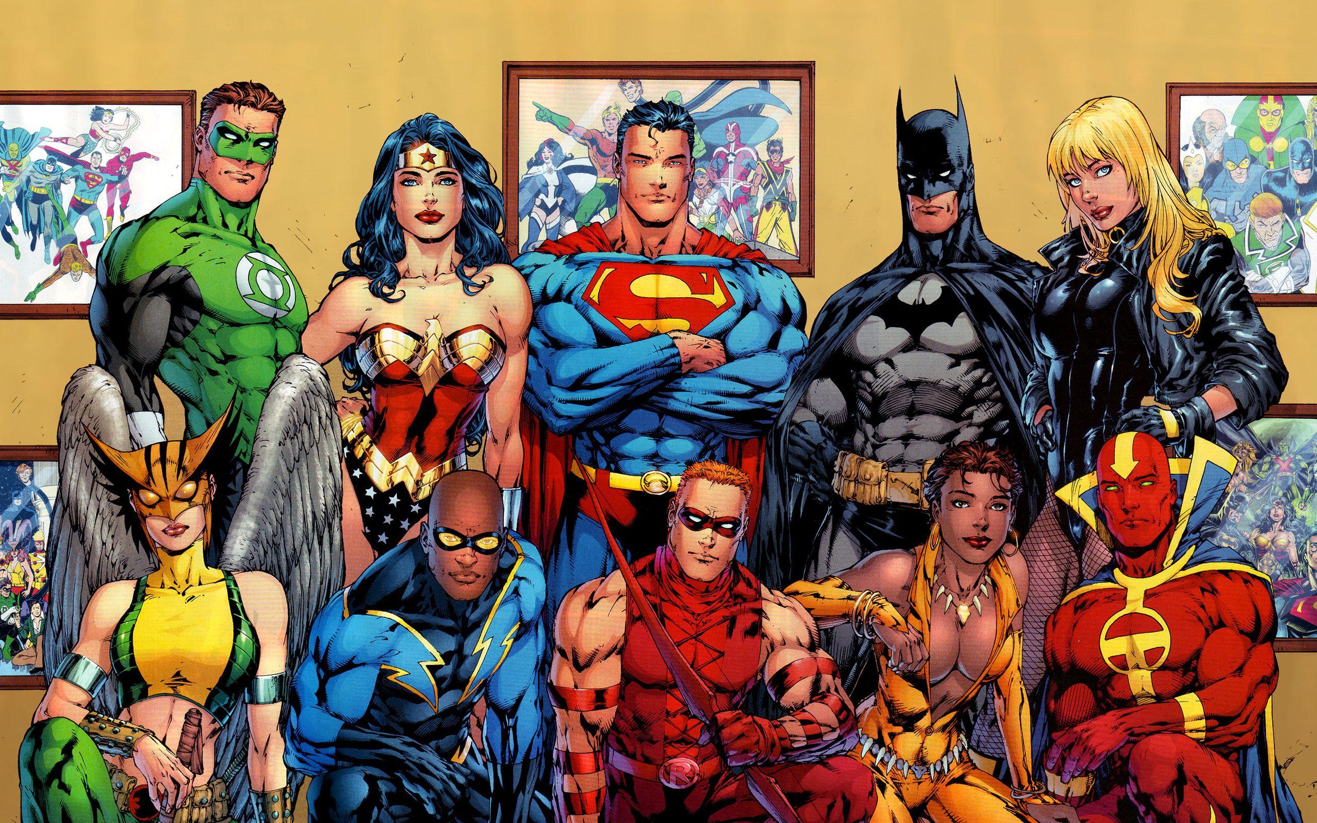 justice league pics hd
