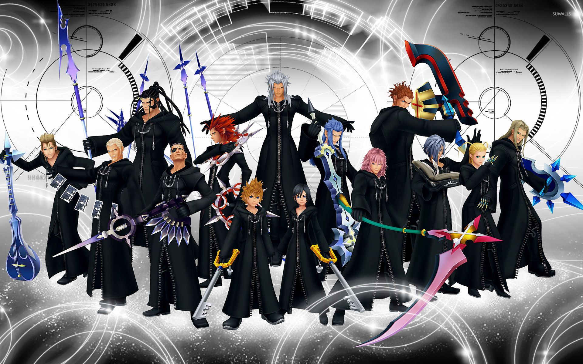 kingdom hearts 1 wallpaper