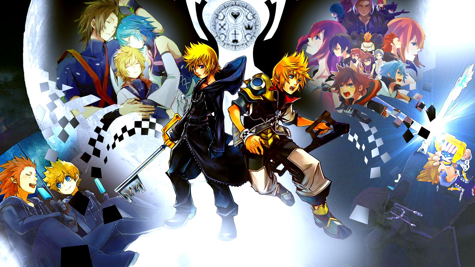 kingdom hearts wallpaper 1080p