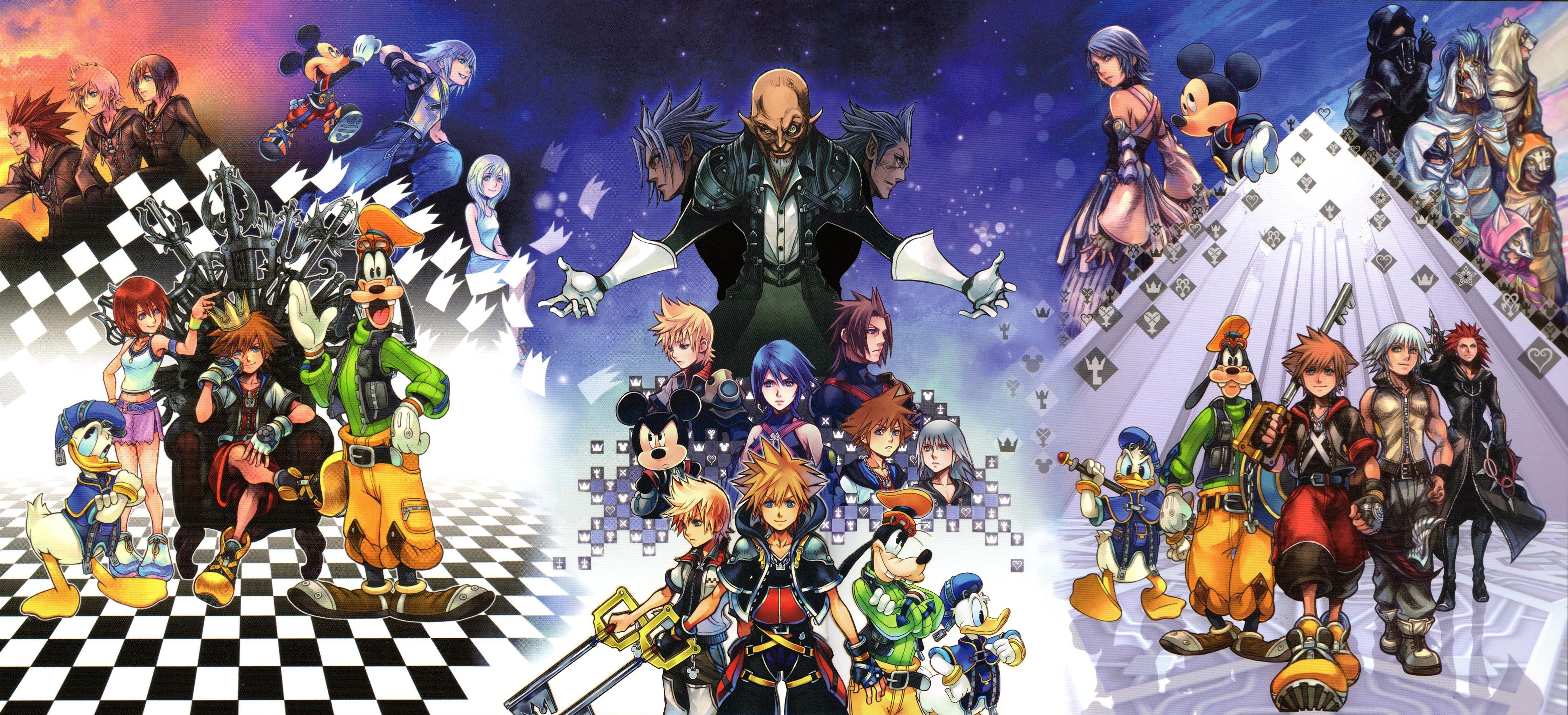 hd kingdom hearts wallpaper