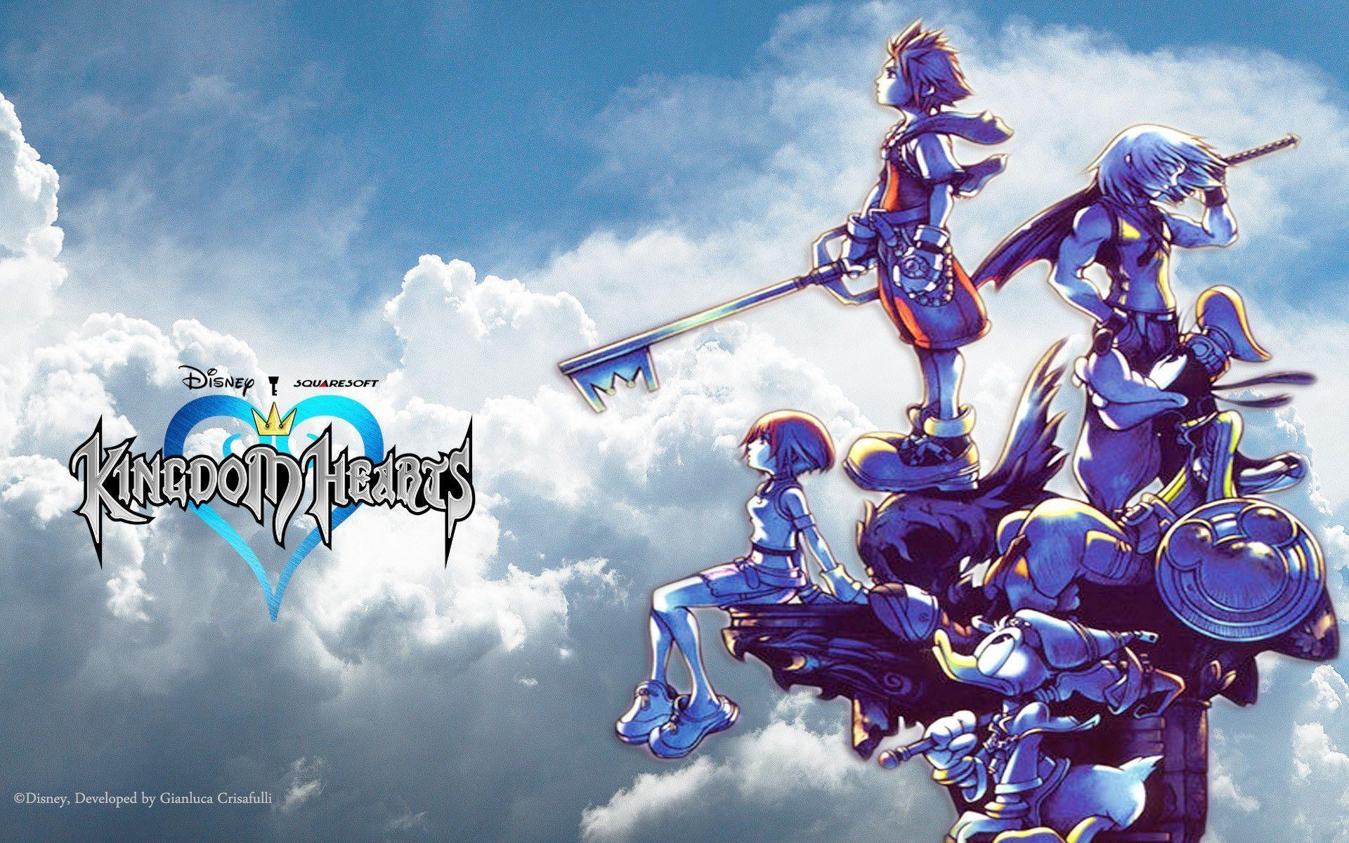 kingdom hearts 1080p wallpaper