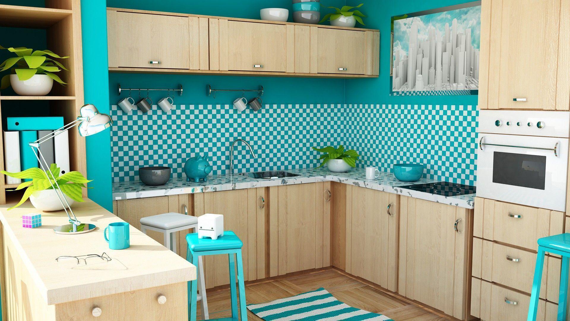 kitchen wallpaper design 4k