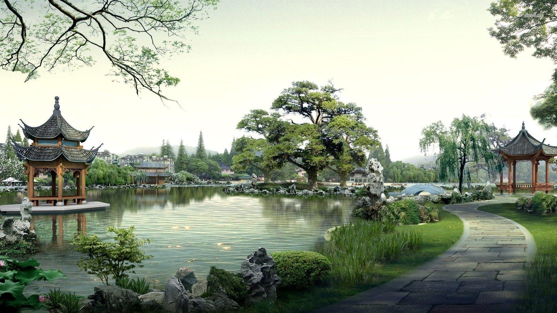 kyoto art wallpaper