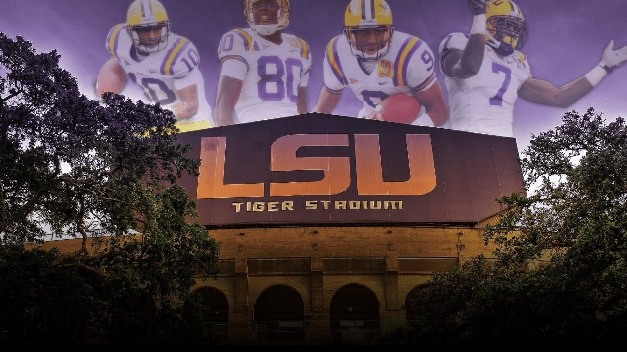 lsu eye of the tiger images