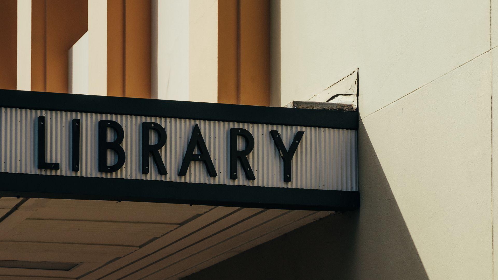 library desktop background