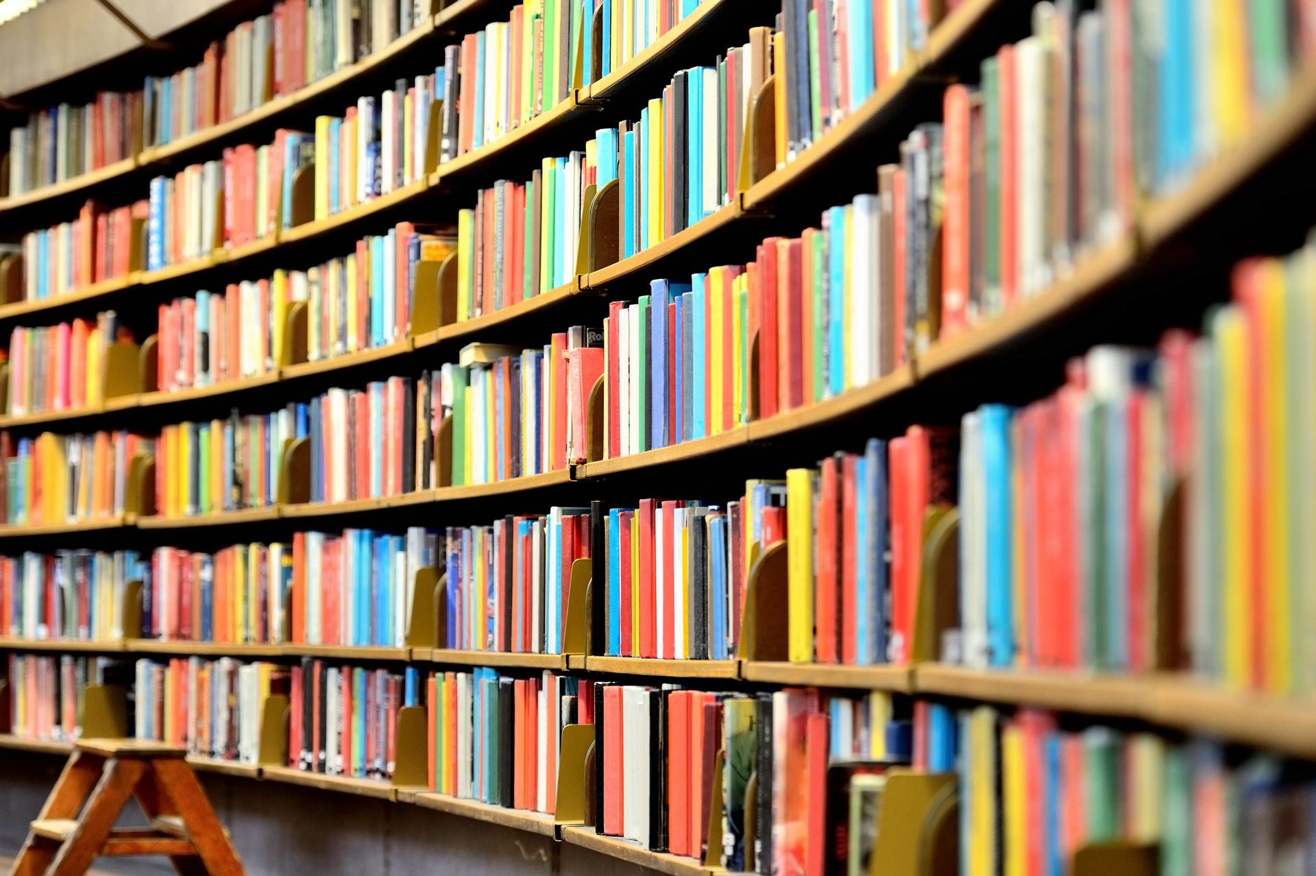libraries wallpaper