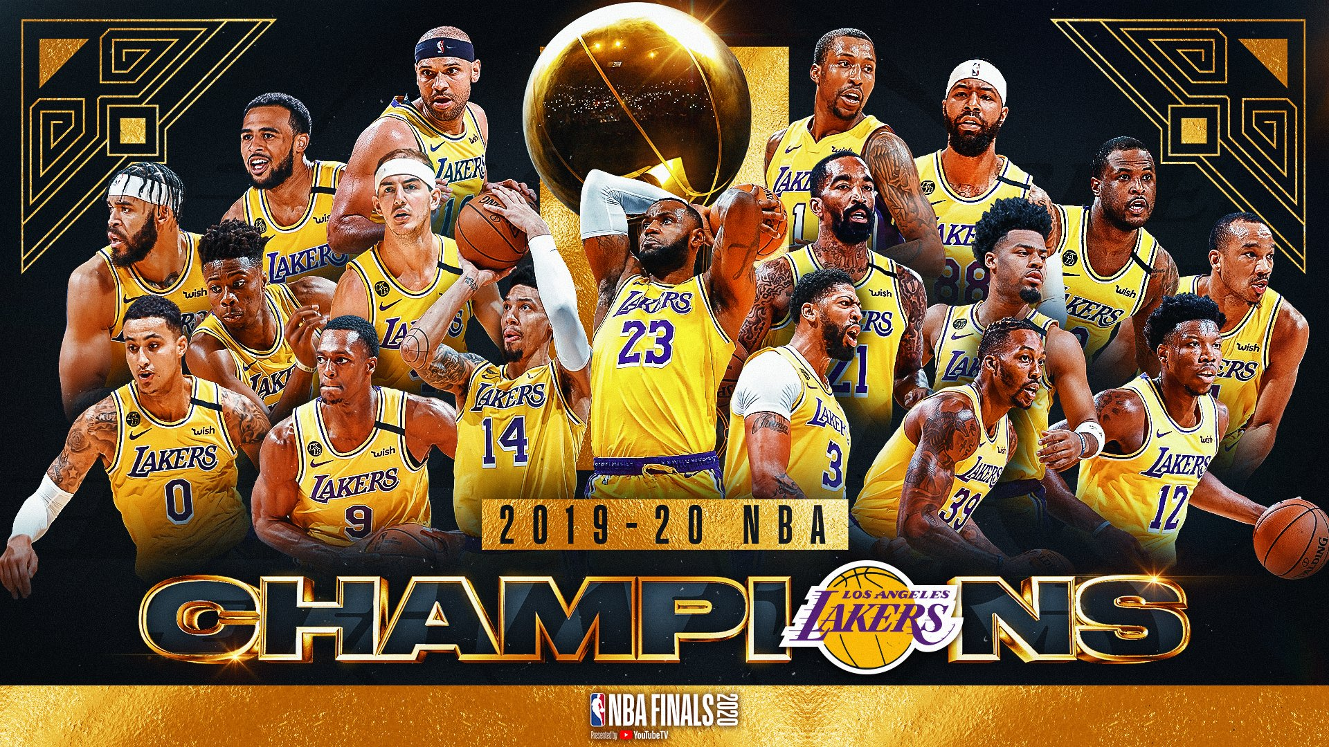 Los Angeles Lakers Nba Champions Wallpapers Trumpwallpapers