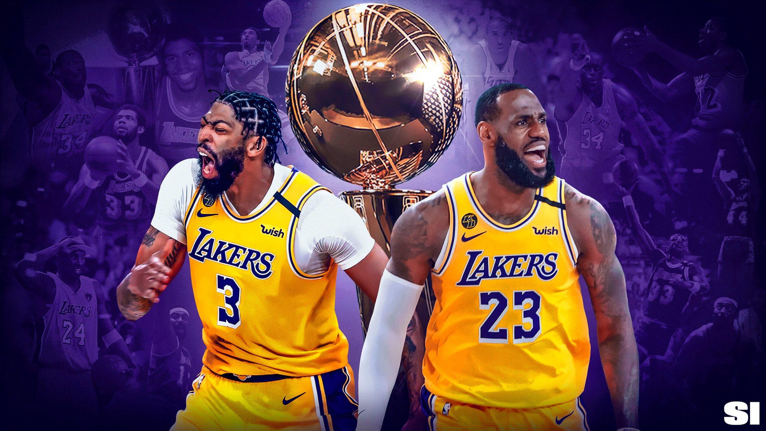 Los Angeles Lakers NBA Champions Wallpapers • TrumpWallpapers