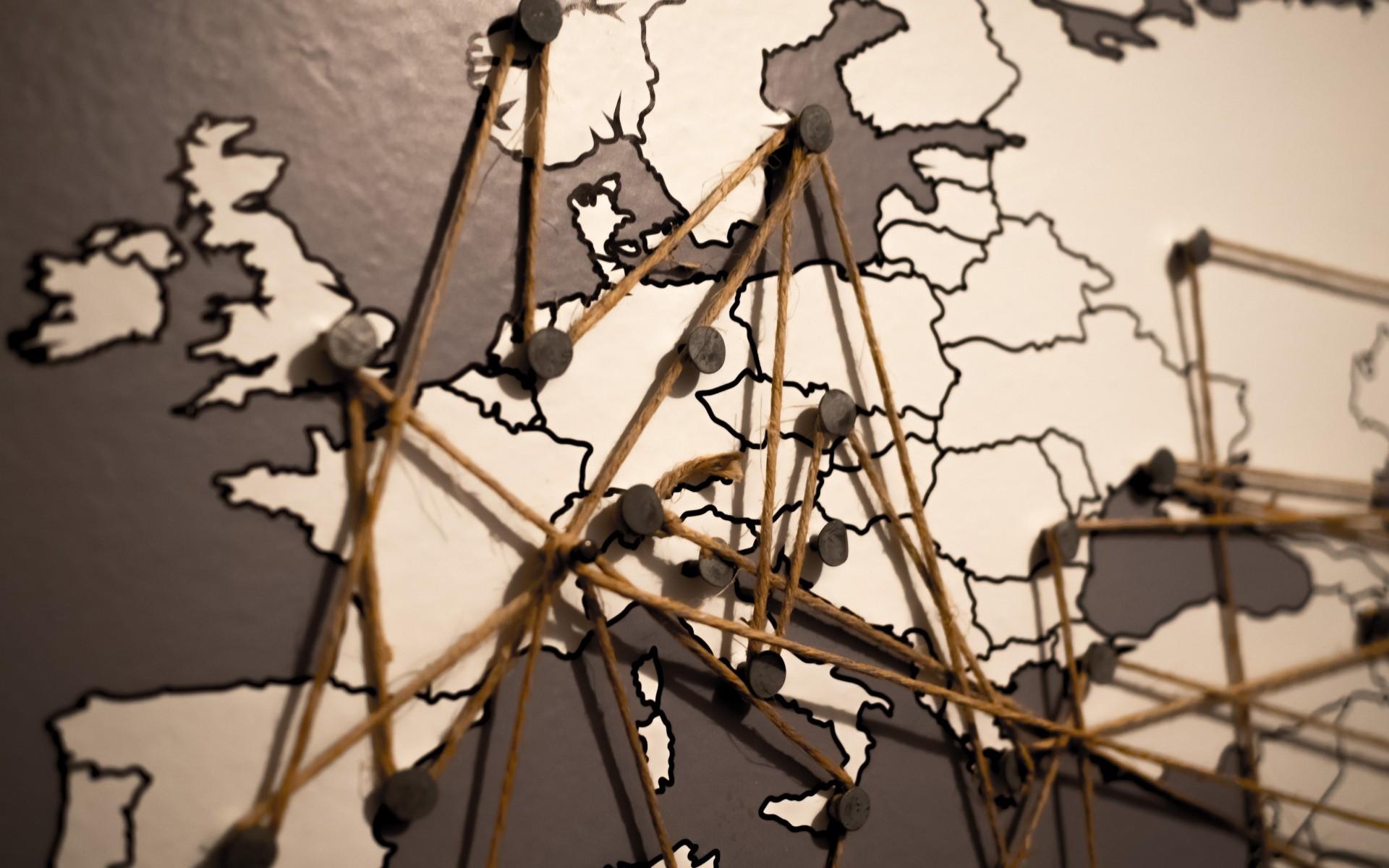 world map mural wallpaper