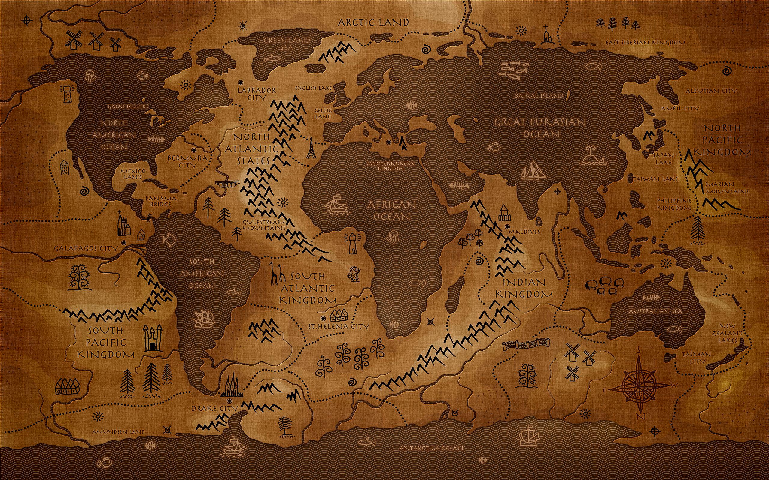 wallpaper worldmap