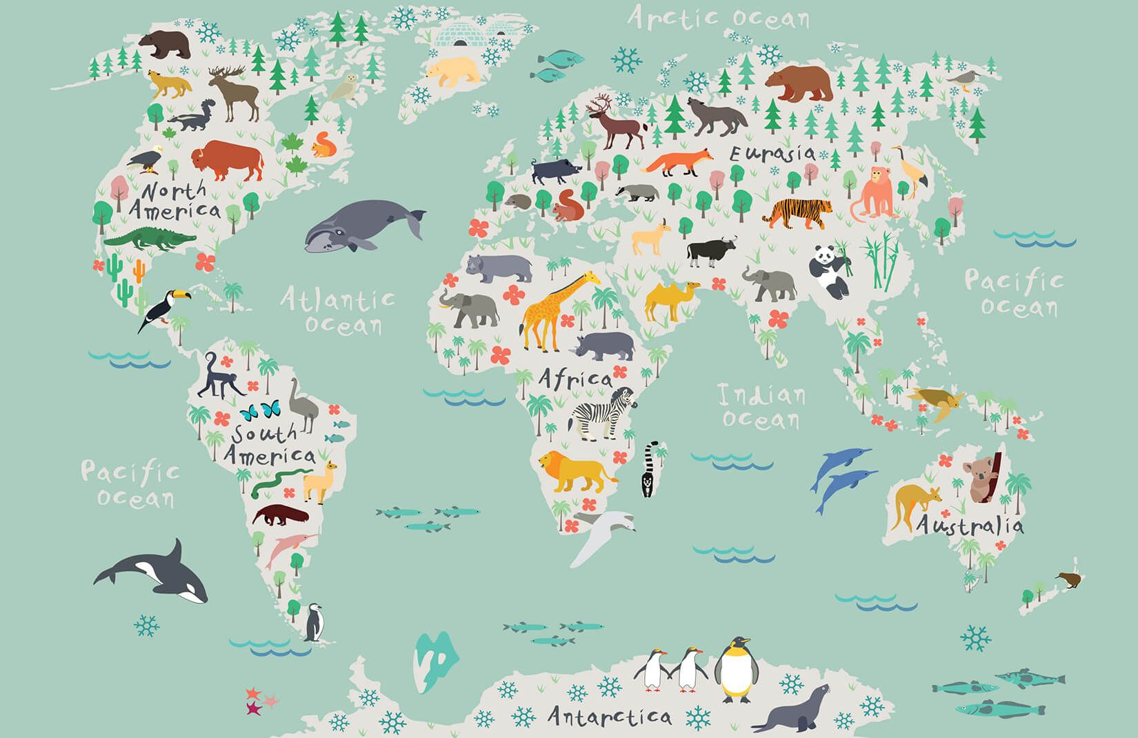 maps of the world wallpaper