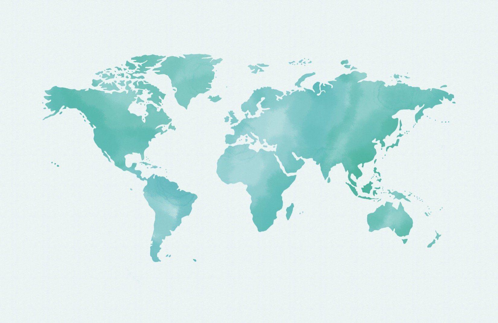 murals world map