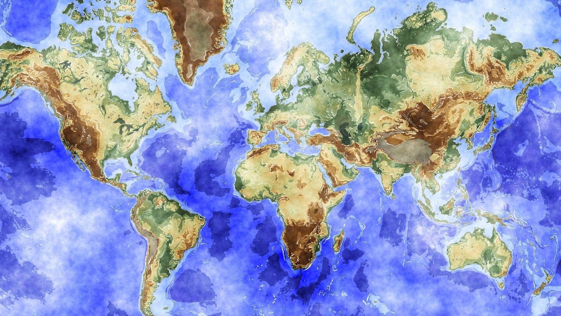 world atlas wallpapers