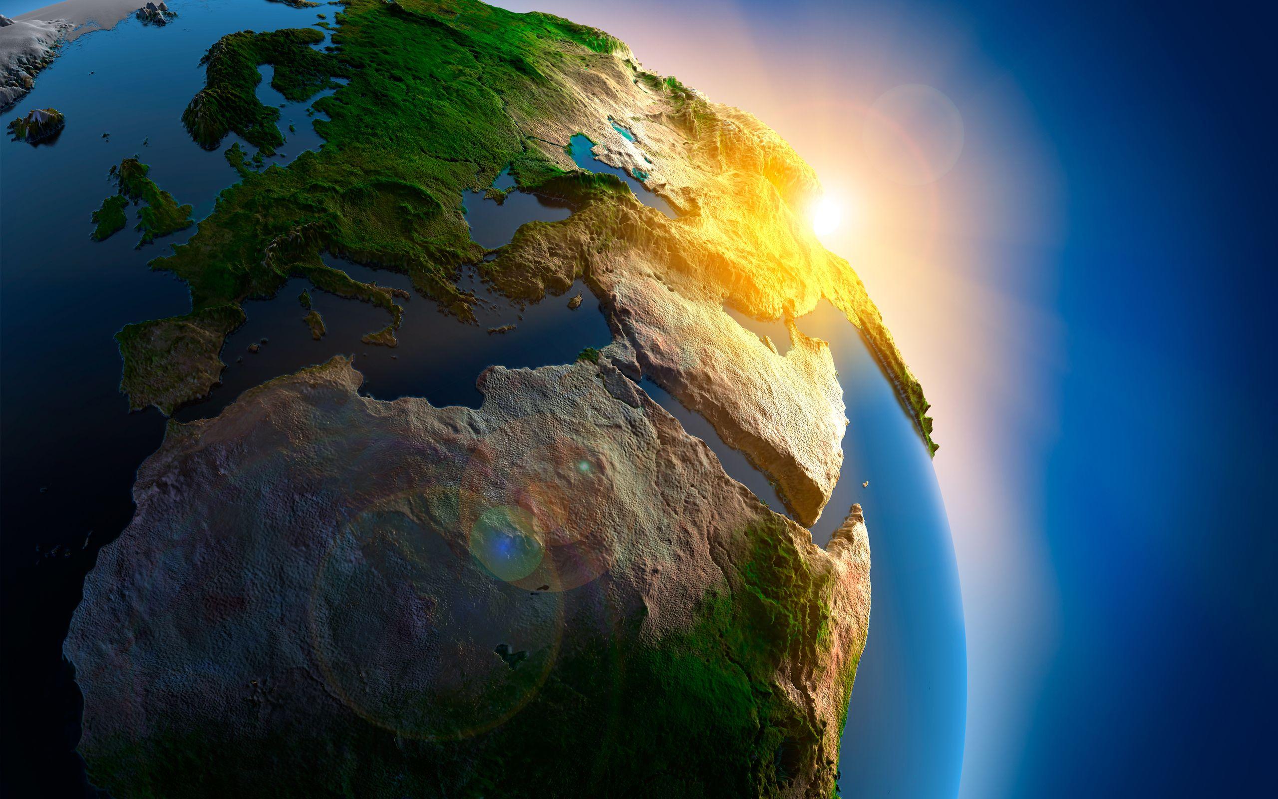 earth map wallpaper