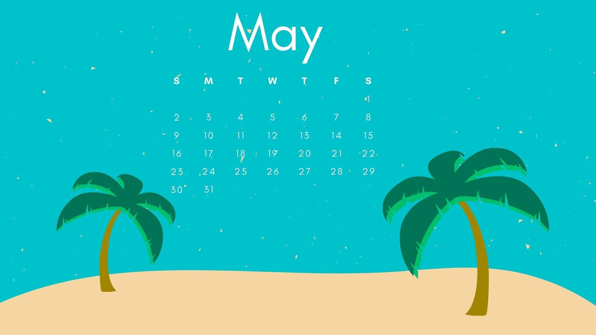may 2021 calendar editable