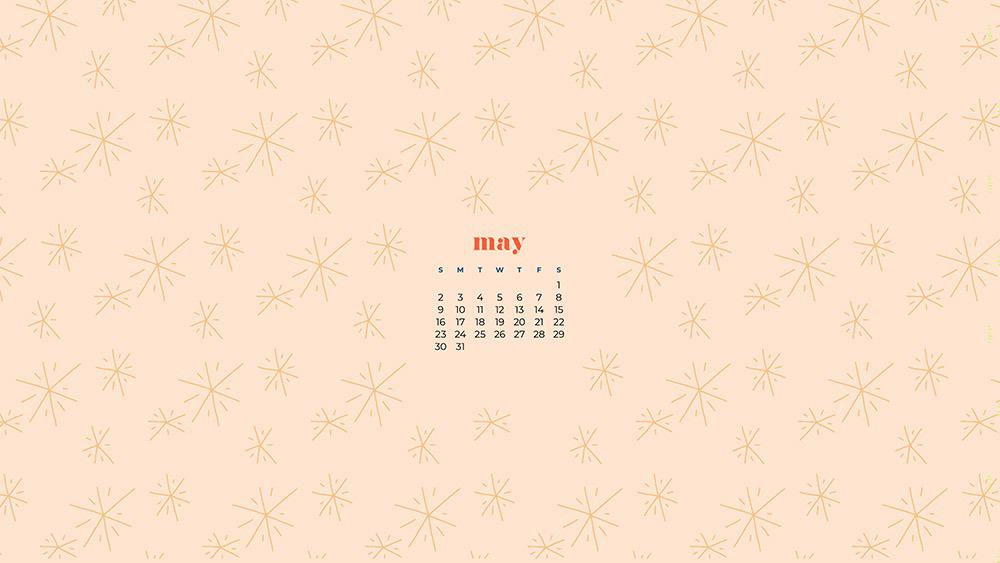 may 2021 calendar background