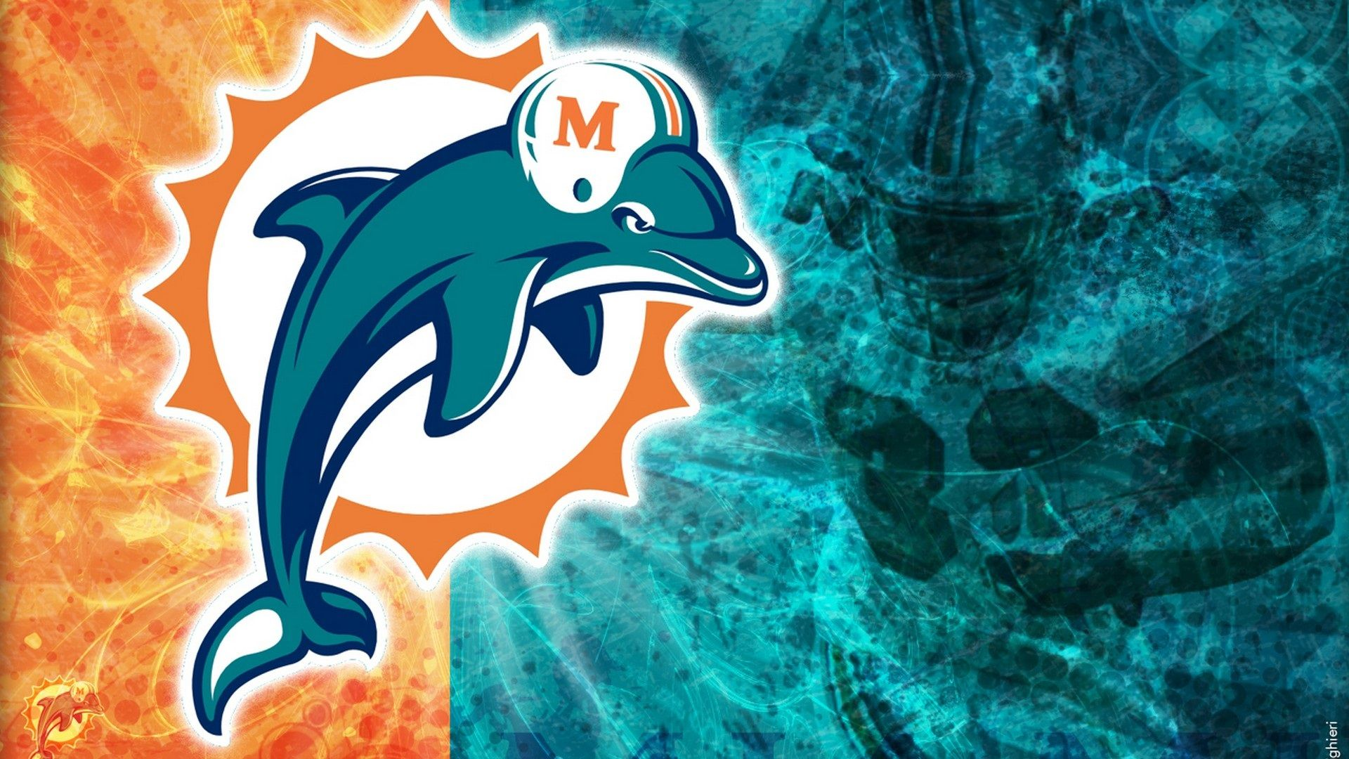 miami dolphins phone wallpapers