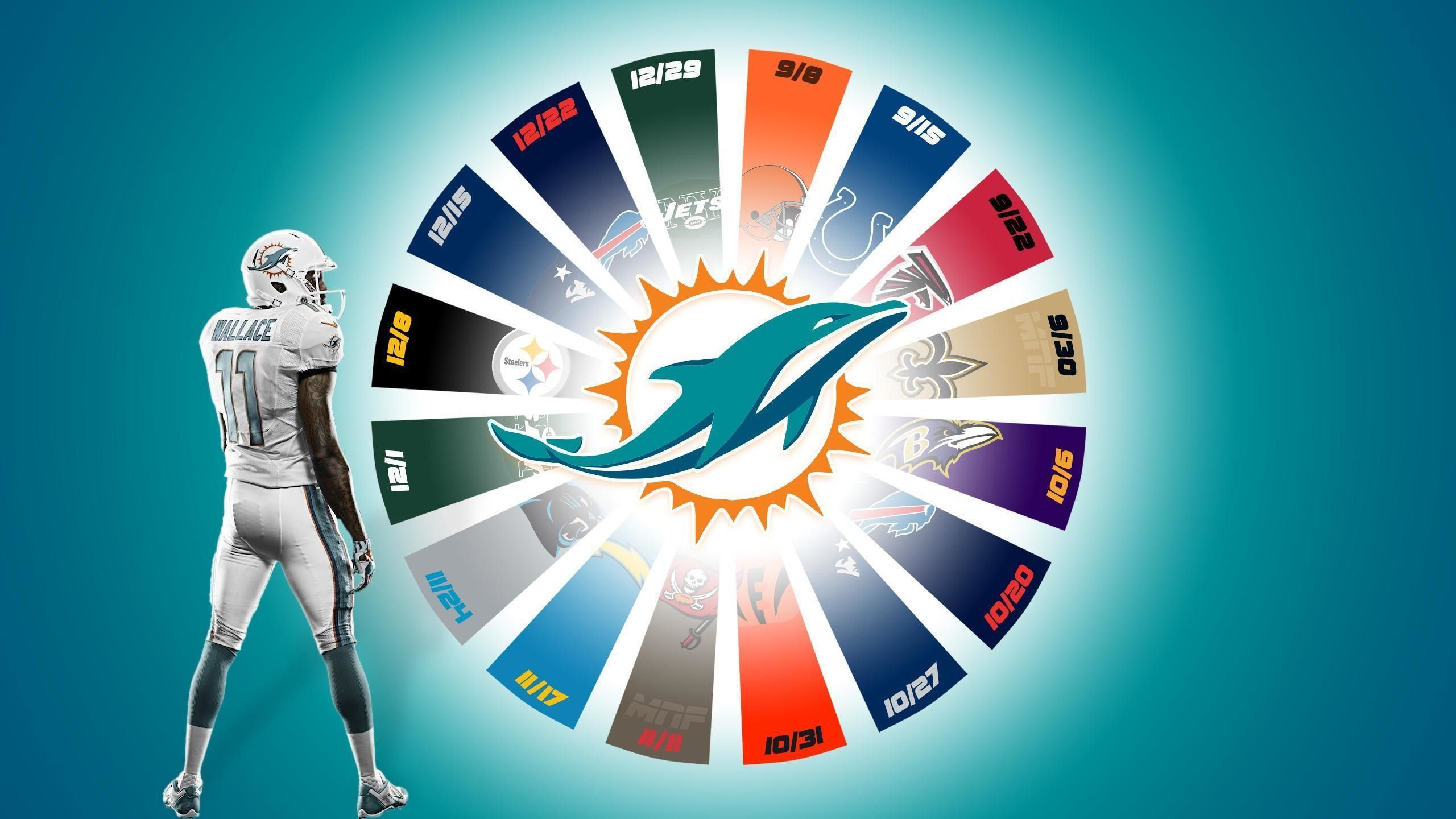 miami dolphins android wallpaper