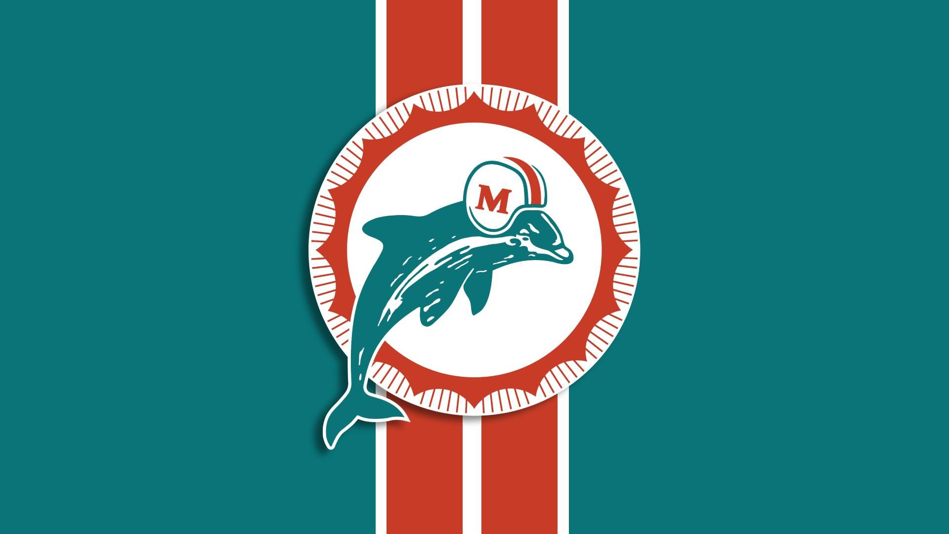 cool miami dolphins wallpaper