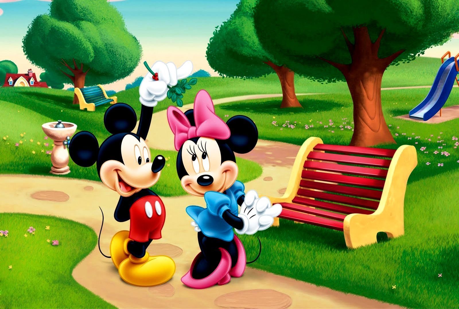 clip art mickey mouse