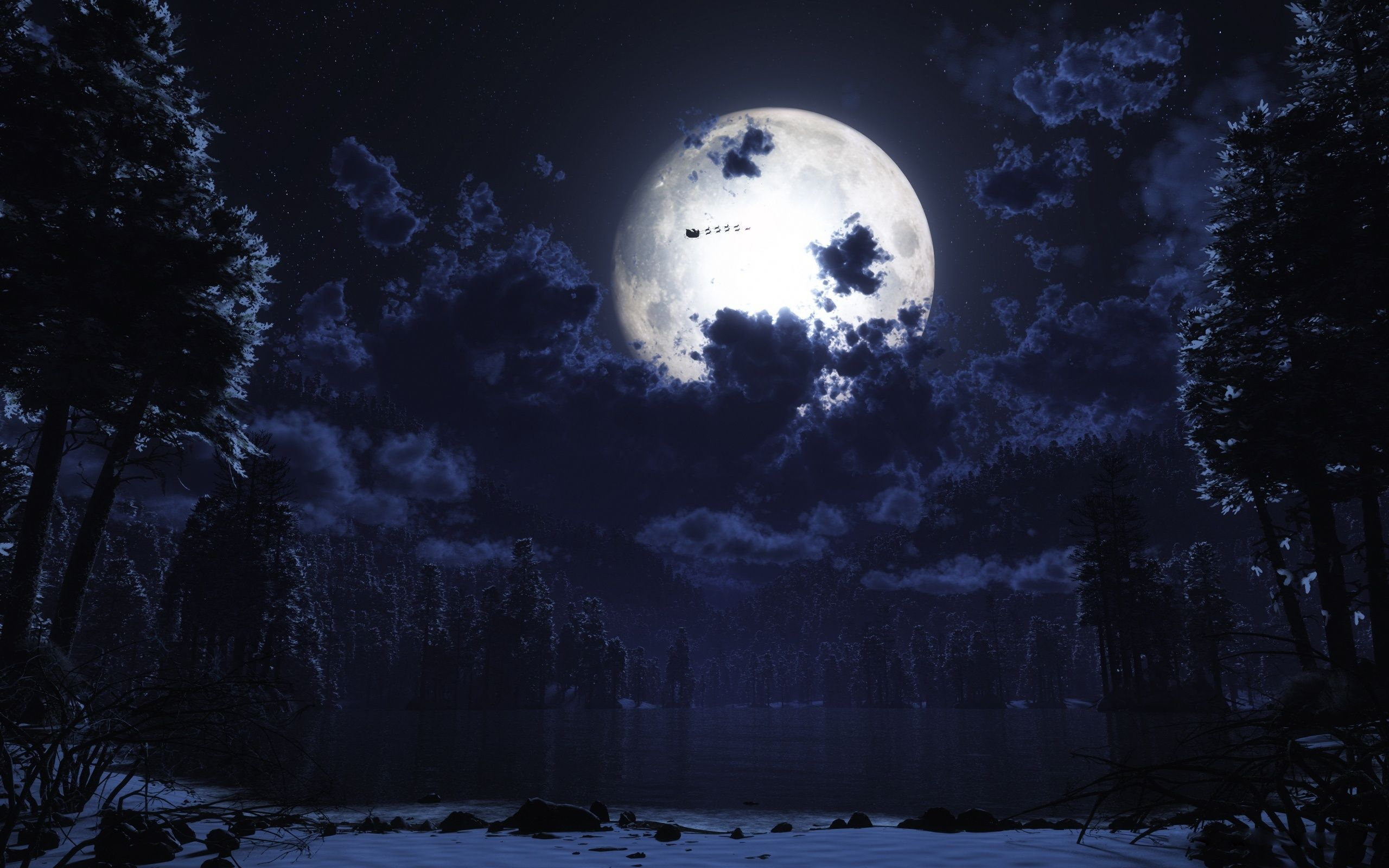 full moon wallpaper