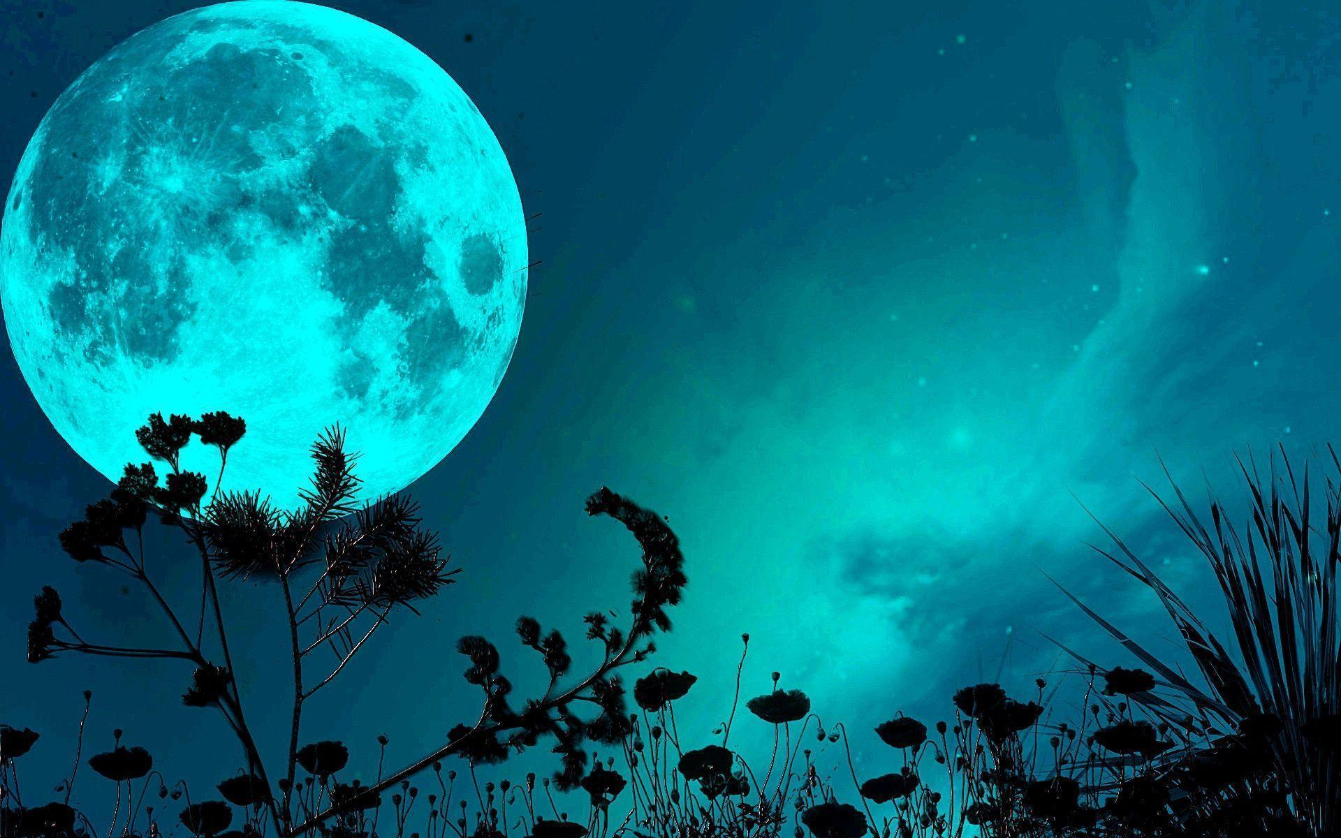 full moon hd wallpapers