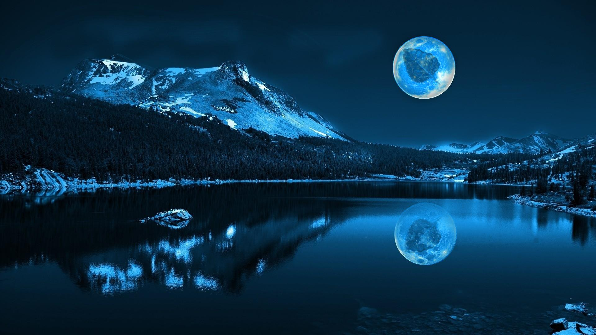 cool moon picture