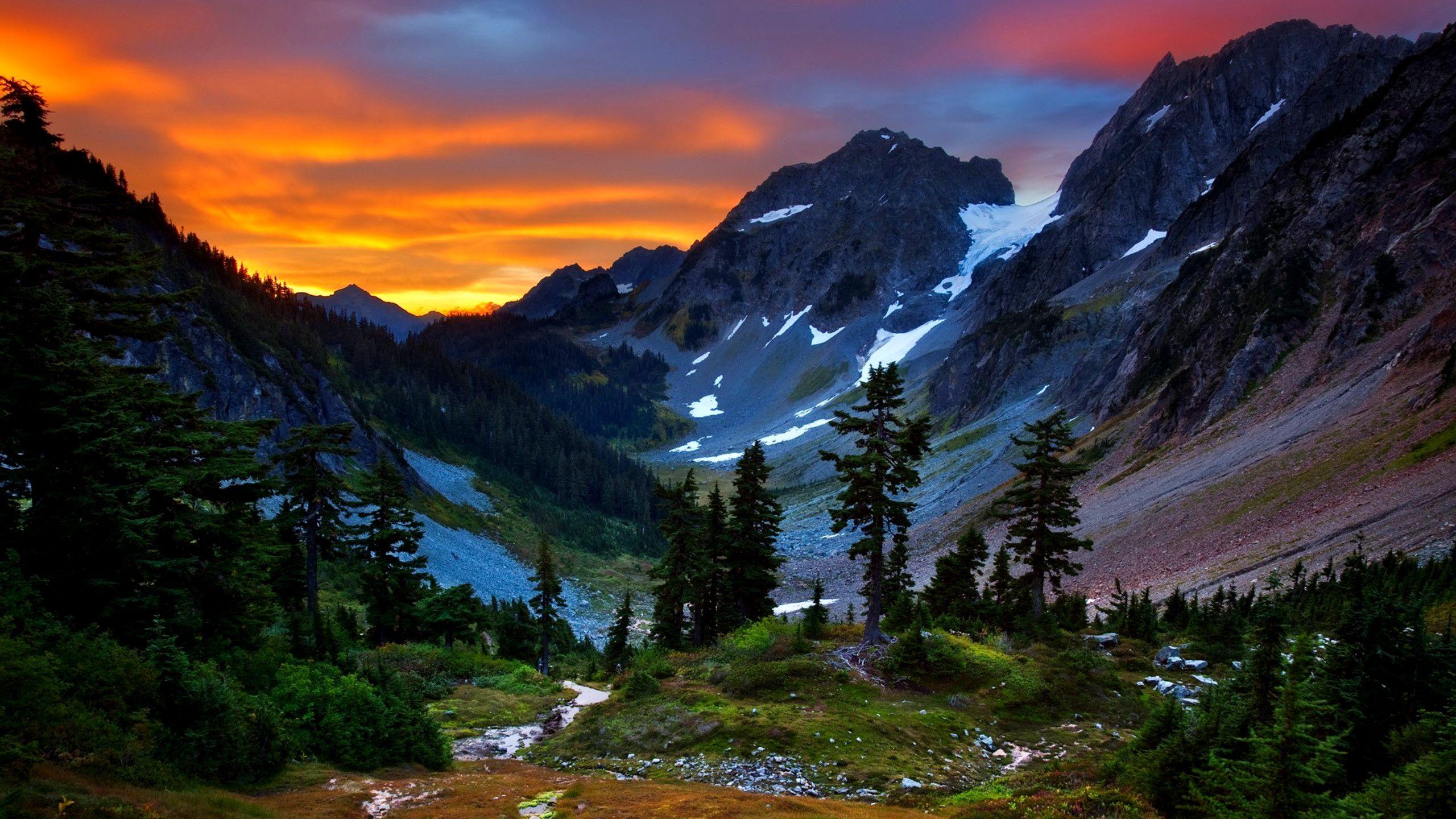 mountain scenes wallpaper