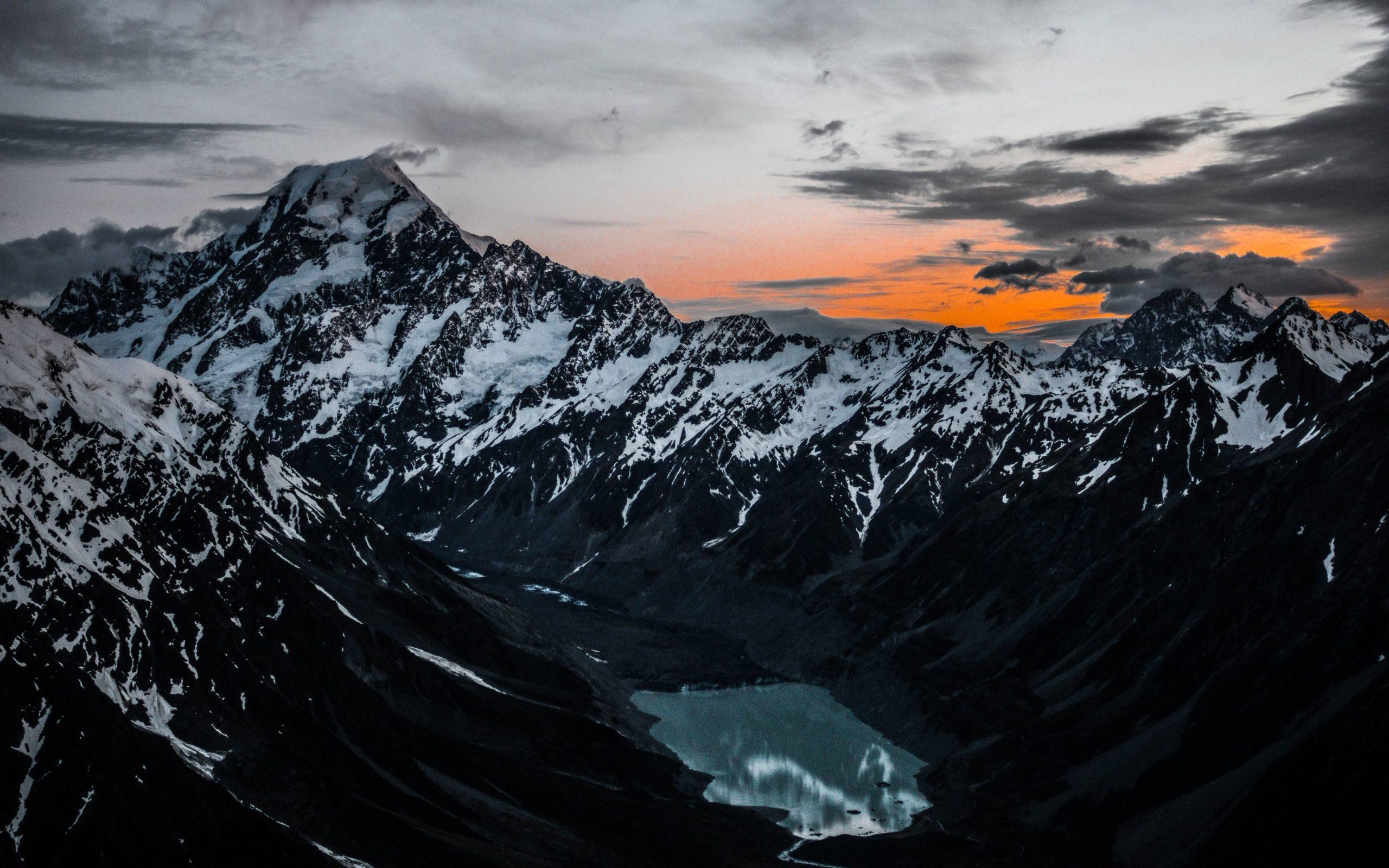 desktop background mountains