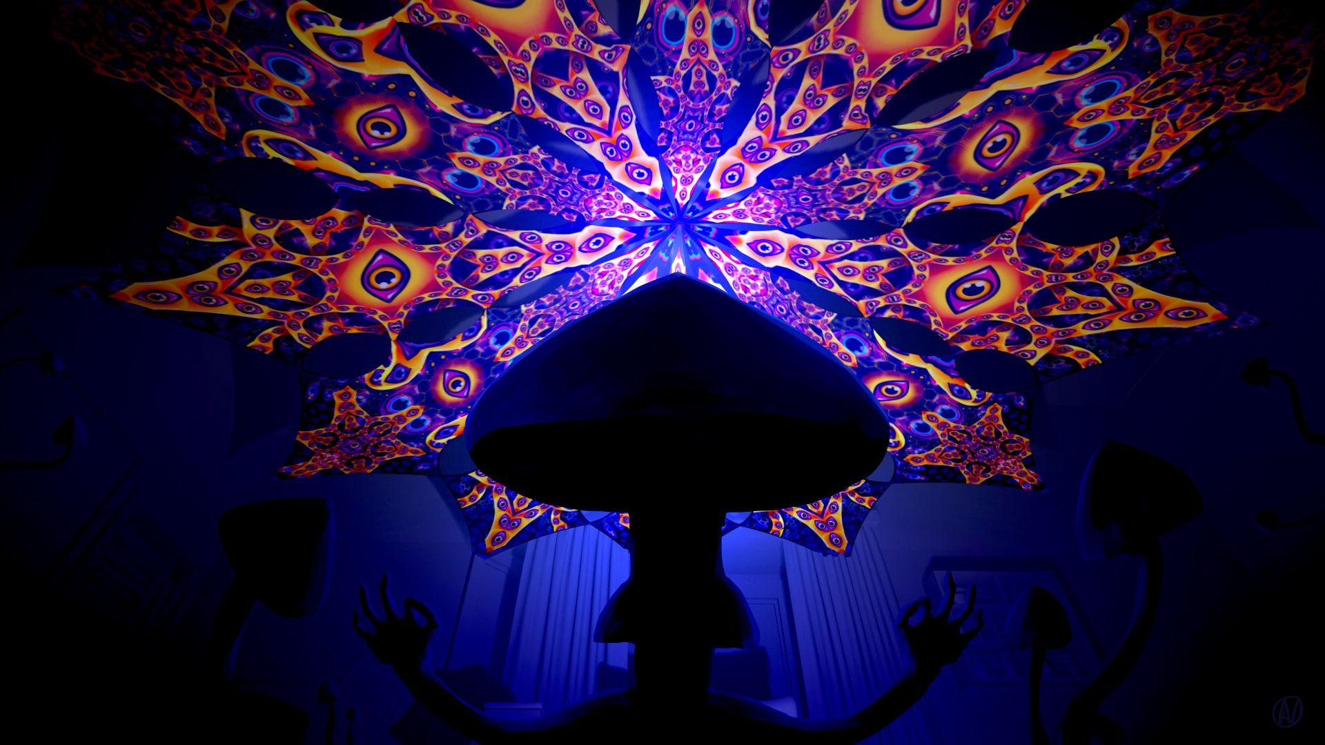 mushrooms screensaver pictures