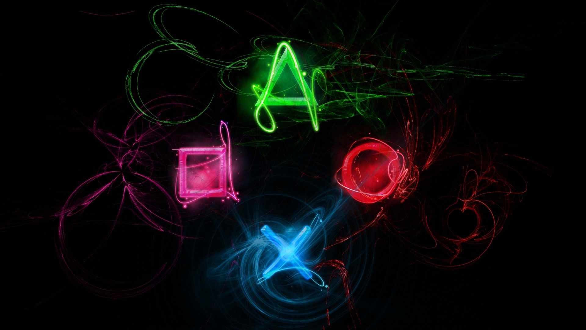 cool neon abstract backgrounds