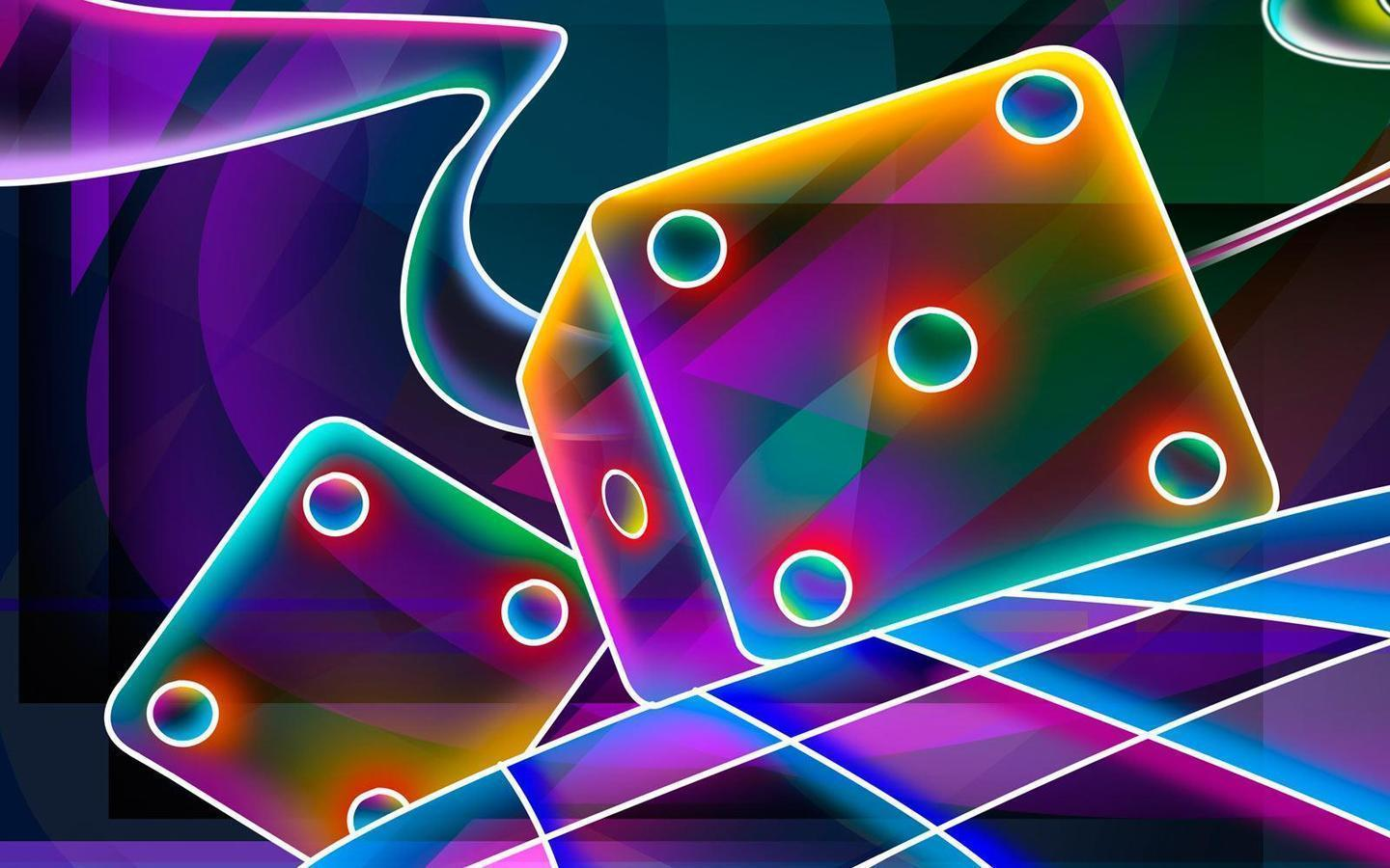 cool neon backgrounds