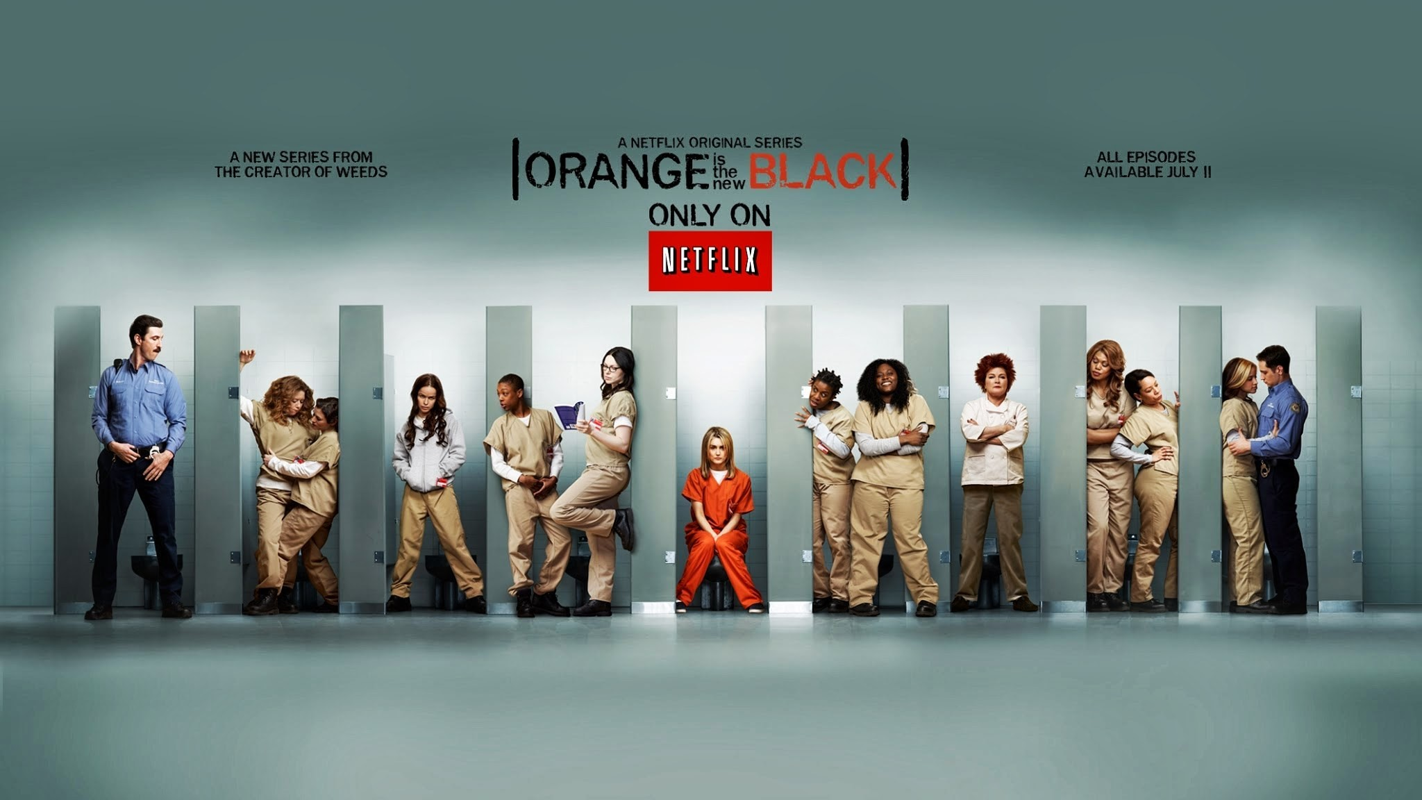 Orange is the new black netflix wallpaper