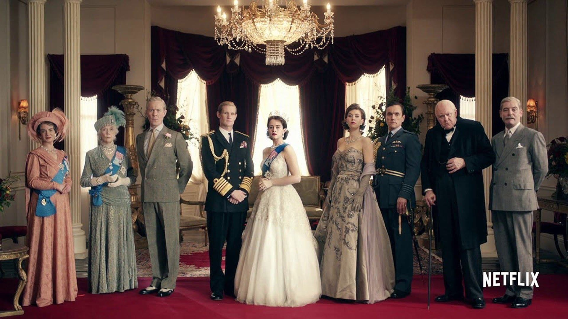 The Crown Netflix Wallpapers free download
