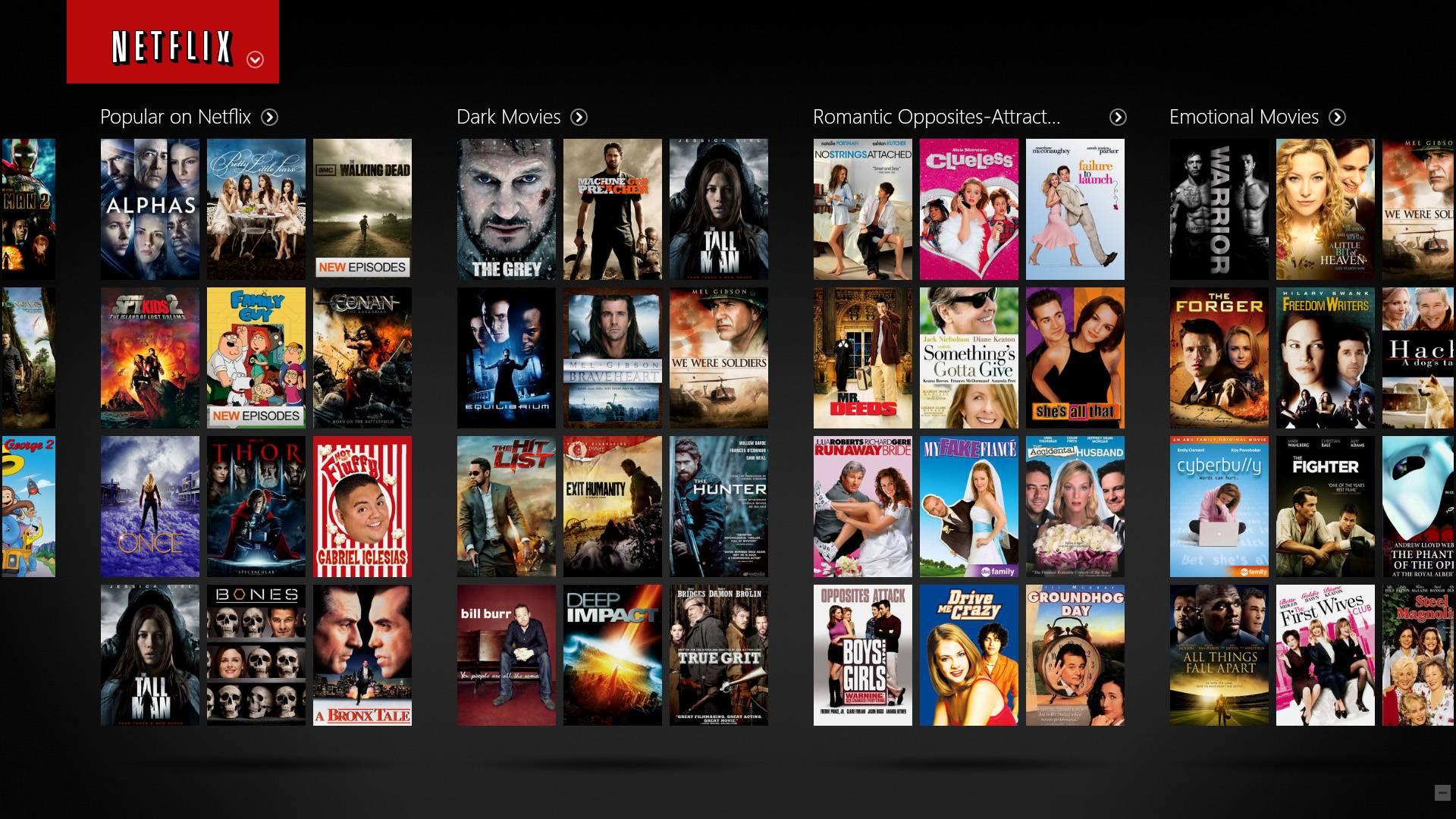 Netflix series wallpapers