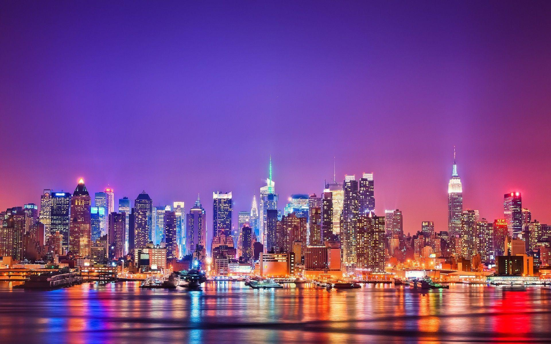 ny wallpaper, new york skyline wallpaper hd