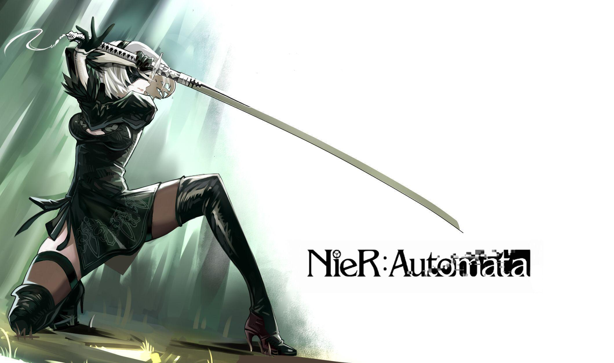 nier automata desktop background