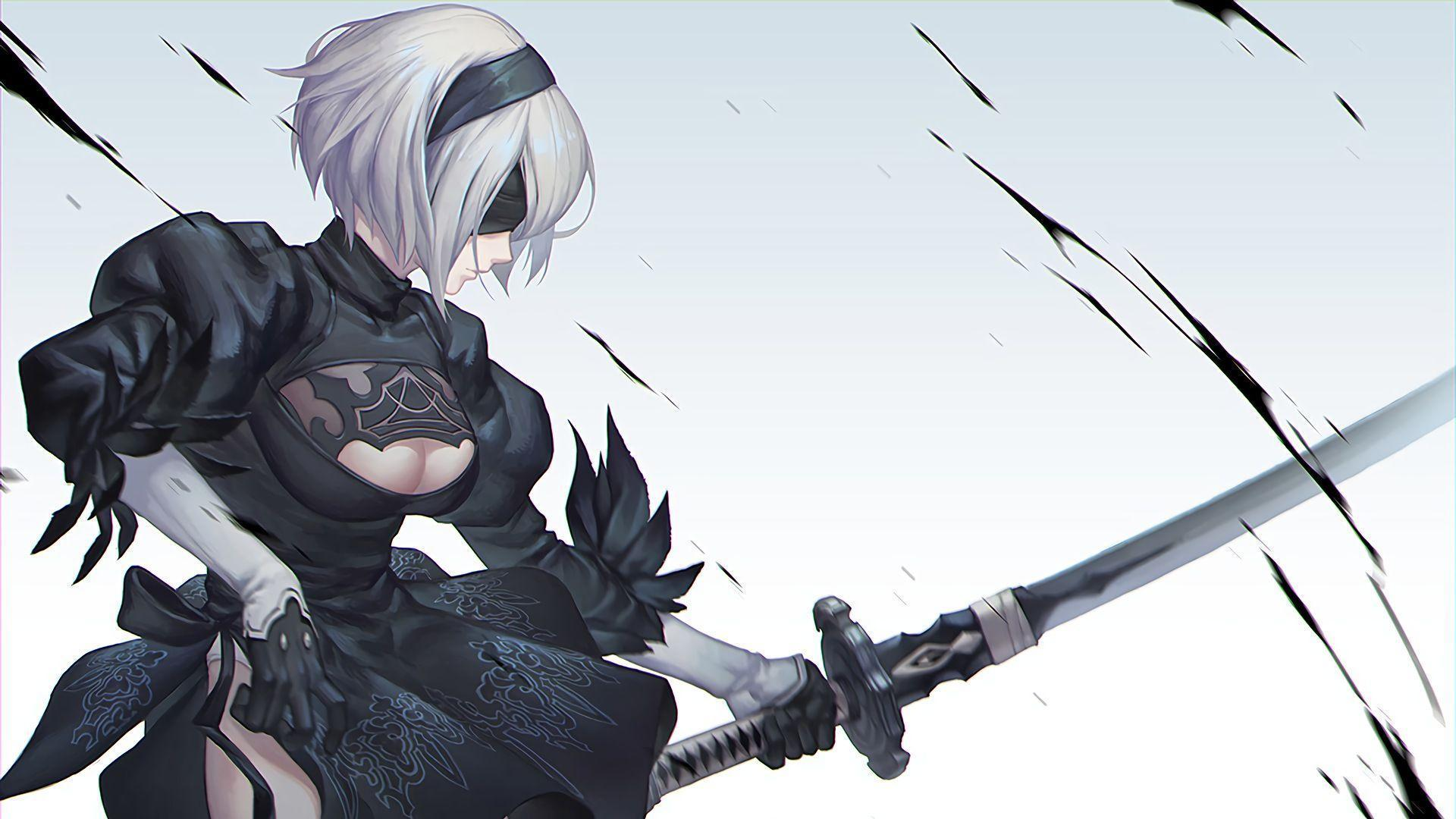 nier automata wallpaper 1080p