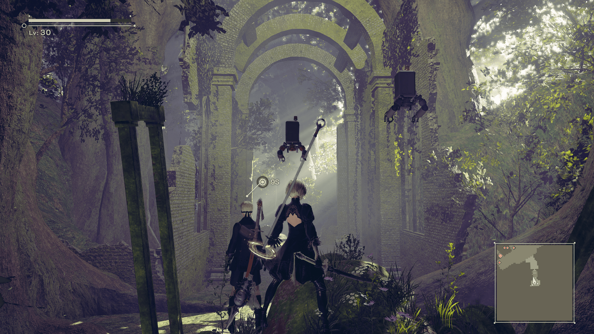 nier automata 2b wallpaper 1920x1080