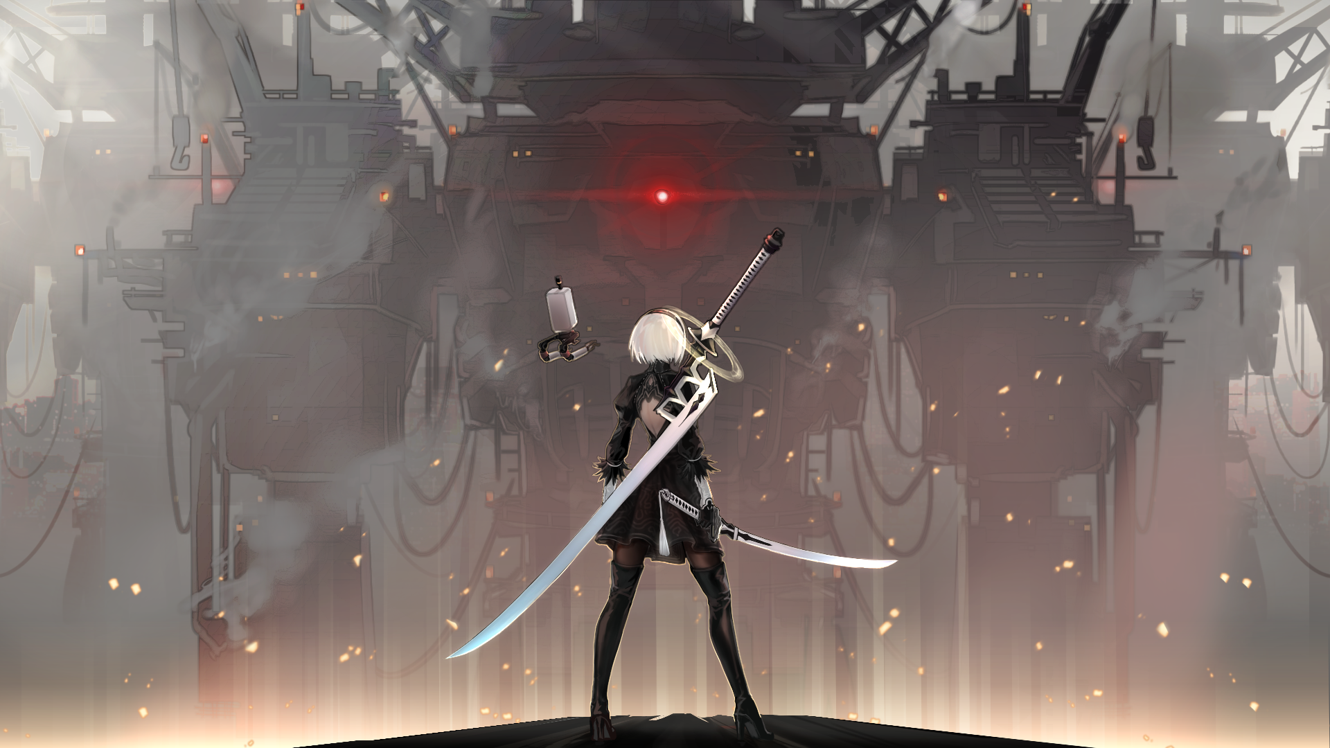 nier automata android wallpaper