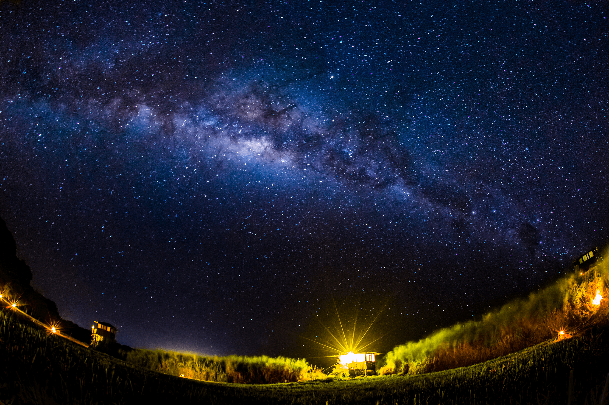 high definition night sky