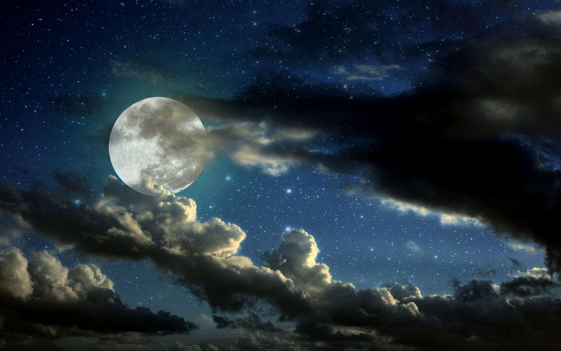 hd night sky wallpapers