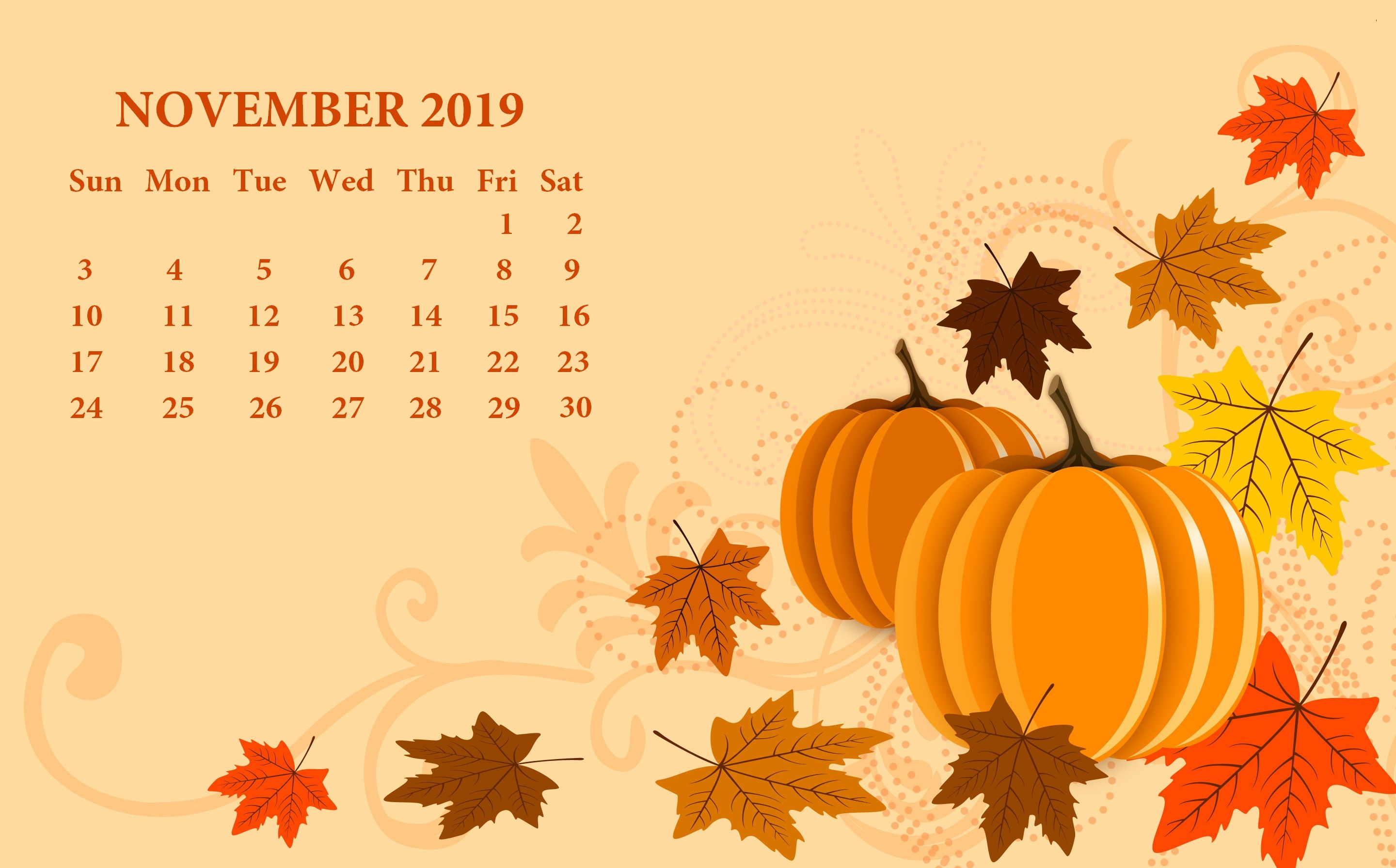 november wallpaper cute