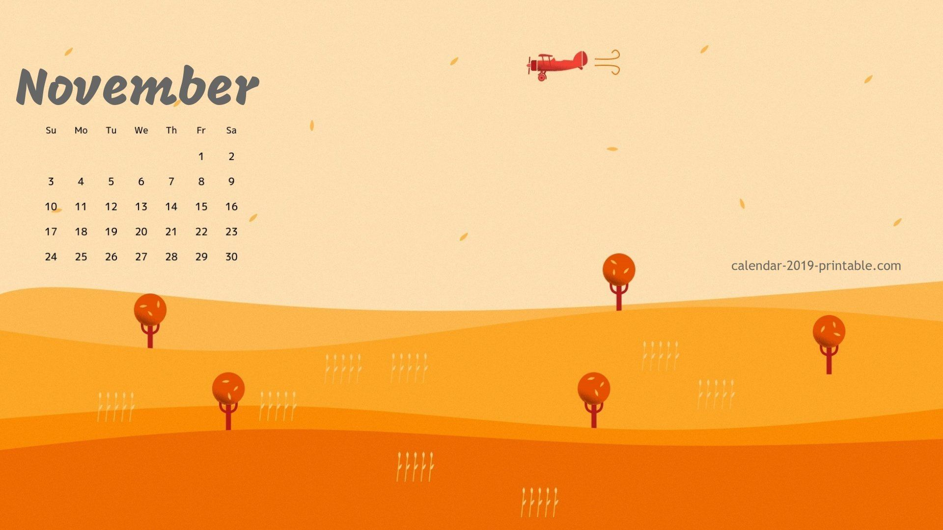 november wallpaper for desktop
