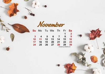 November 2019 Wallpaper