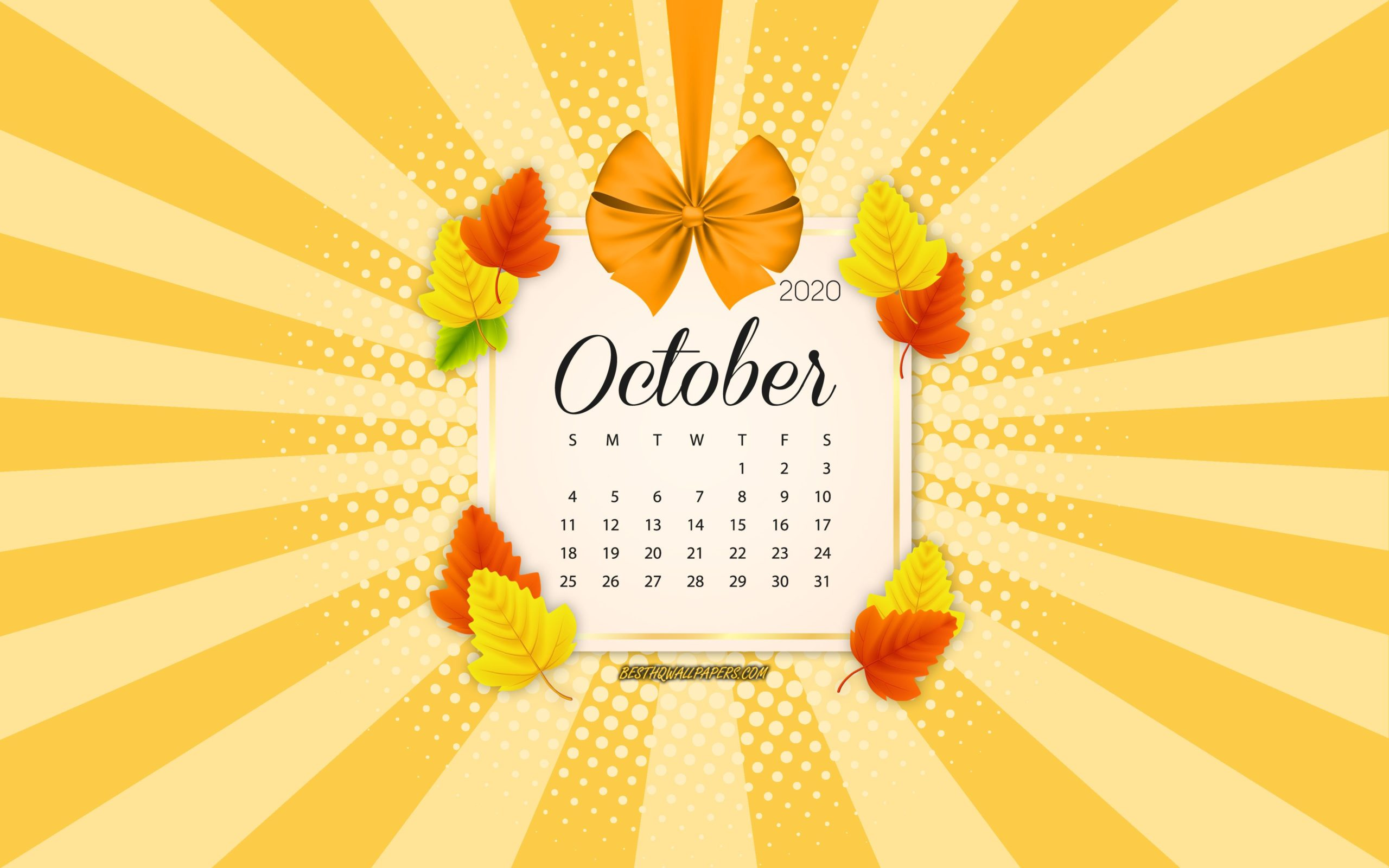 october wallpaper aesthetic