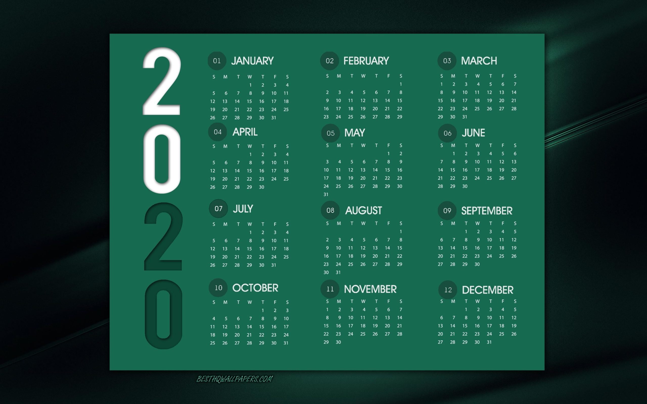 green october wallpaper