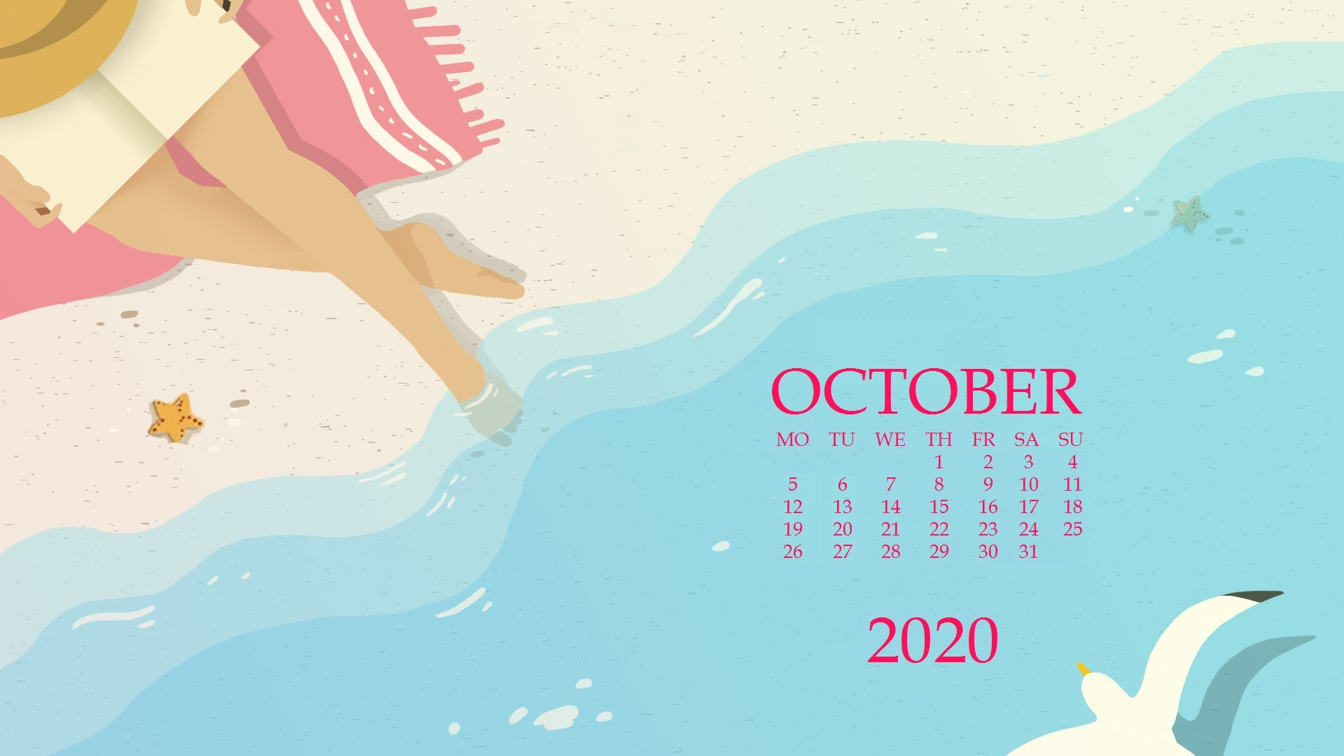 october wallpaper gif